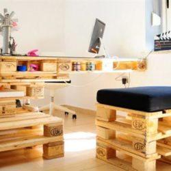 Мебели от палети – просто и модерно решение за дома без пари