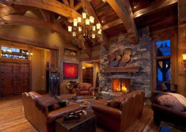 Rustic Living Room 2