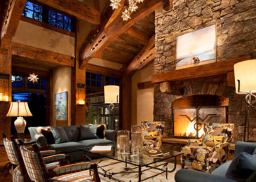 Rustic Living Room 6