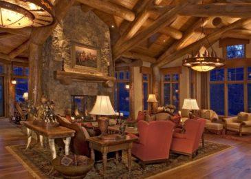 Rustic Living Room 9