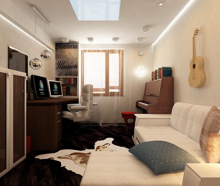 bedroom office 2