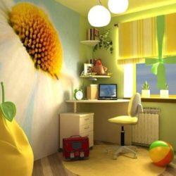 В детска стая интериорът трябва да отговаря на полифункционалността й.