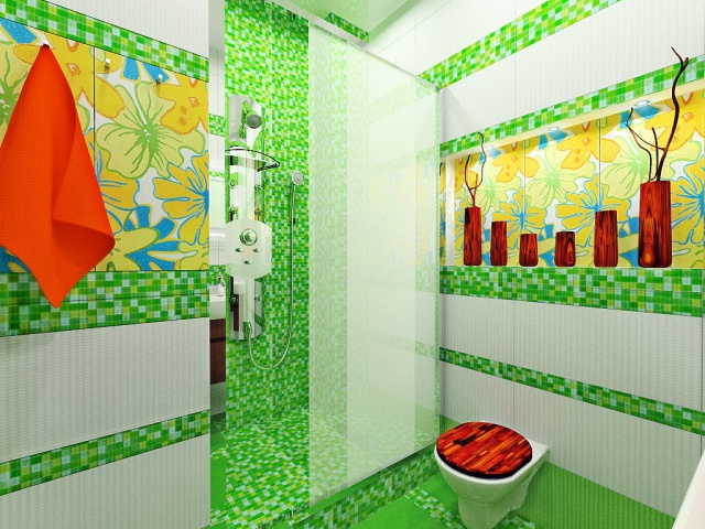 green bathroom 15