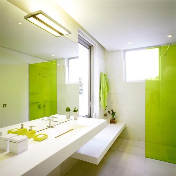 green bathroom 5