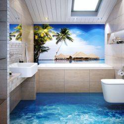 Декор на баня в морски стил – цветове, елементи и идеи