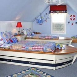 Интериор детска стая близнаци