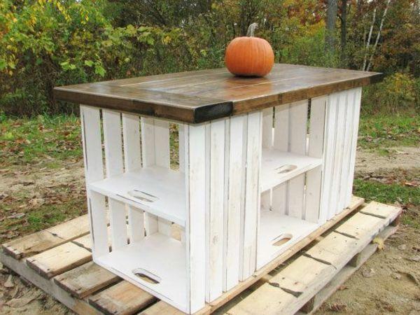 kuhnya ot paleti ostrov 4. Black Bedroom Furniture Sets. Home Design Ideas