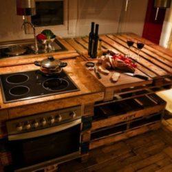 Направи си сам: Кухня от палети