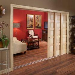 Плъзгащи врати за обособяване на едно помещение в две