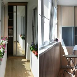 Идеи шкаф за балкон