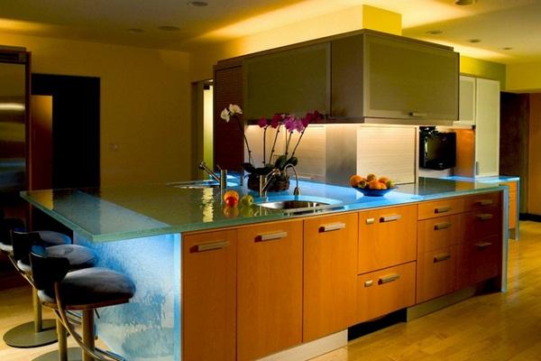 LED осветление за кухня