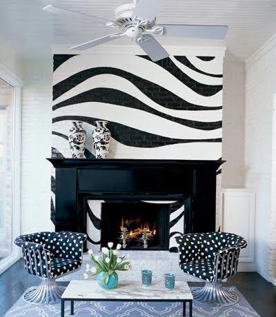 Черно бял интериор за всяка стая на дома