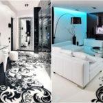 Черно-бял интериор у дома