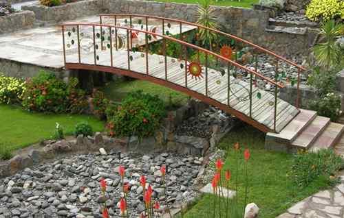 dekorativen most gradina 9