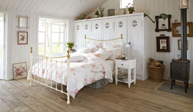 Спалня в провансалски стил