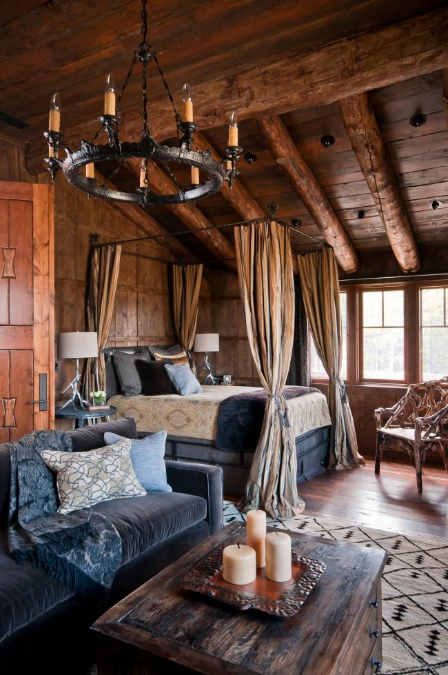 Рустик спалня