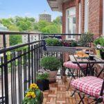 Малък балкон: Тайната на доброто му оформление