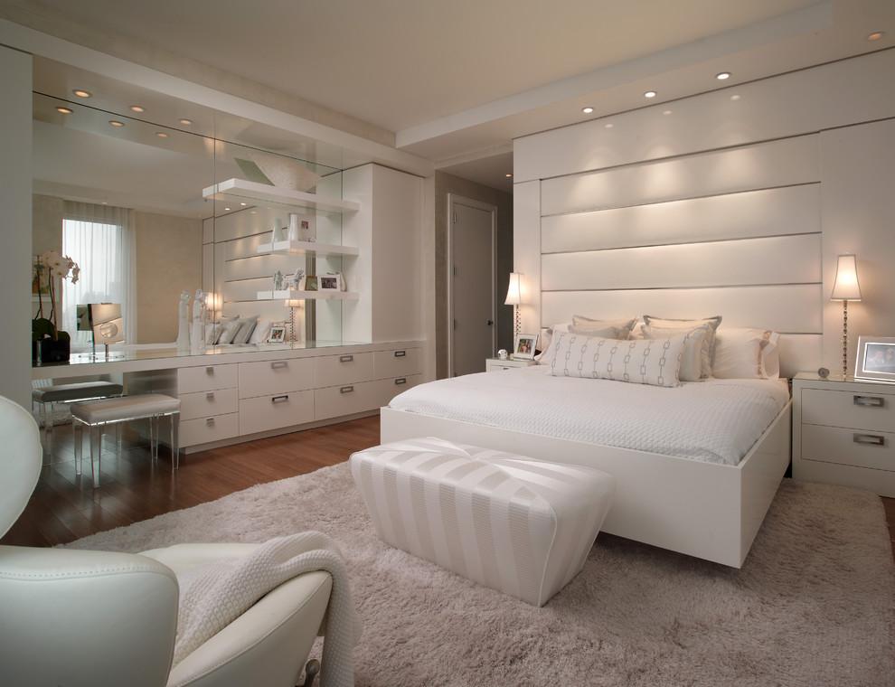 Бяла спалня арт деко