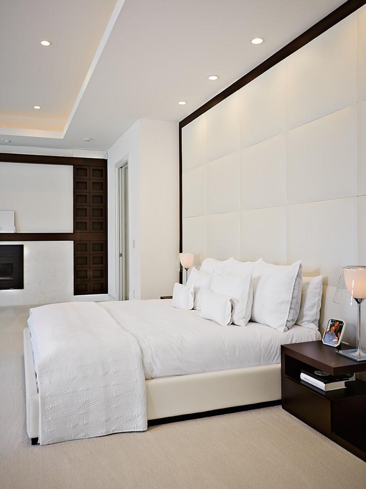 Бяла спалня минимализъм
