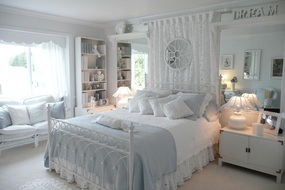 Бяла спалня прованс