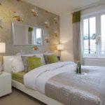 Акцентна стена зад таблата на леглото в спалнята  – как да постигнете ефектно излъчване