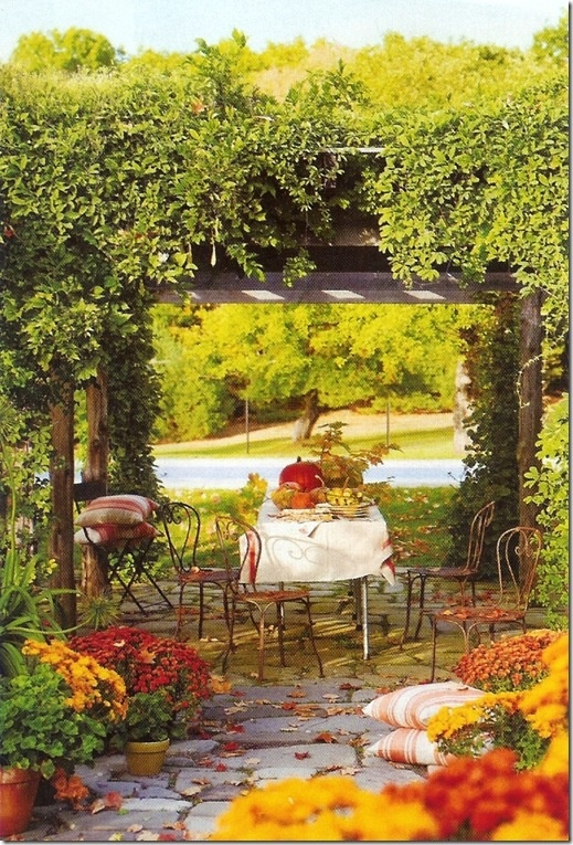 Есенна декорация за градина