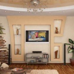 Декорация с гипсокартон за всяка стая