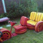Още направи си сам – идеи за използване на стари гуми: Декорация и мебели за градината