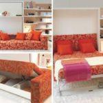 Смарт мебели – трансформери за малък апартамент: Над 20 идеи в снимки
