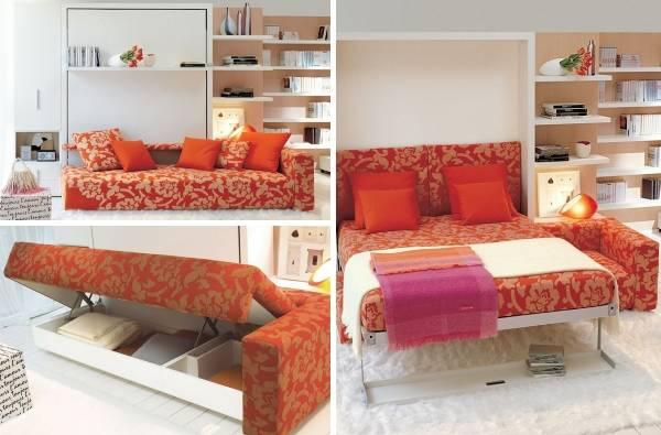 Смарт мебели трасформери - сгъваеми мебели