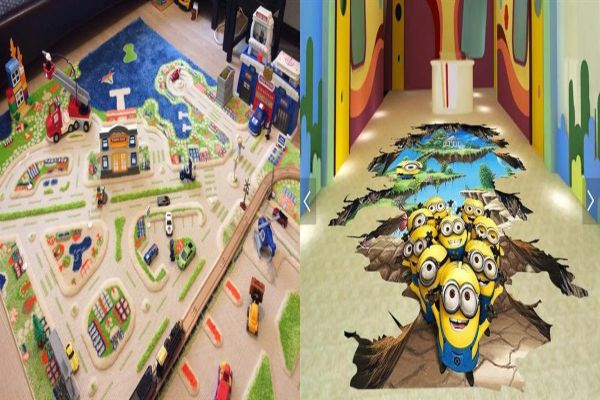 3D покритие за детска стая