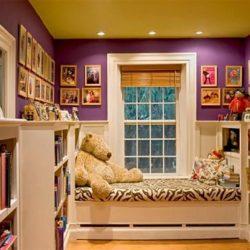 Идеи за окачен таван на детска стая
