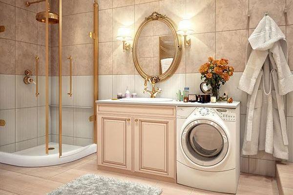 Как да сложим пералня в банята