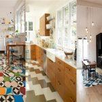 Плочки в кухнята: Изящно и функционално покритие за под