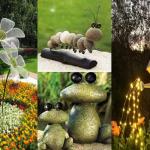 Декорация за градина: 100 направи си сам – решения, които са на мода през 2017-та