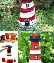 Направи си сам идеи декорация за градина