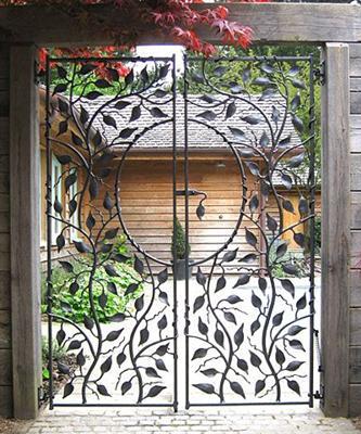 Оригинални идеи за външна порта, врата и ограда