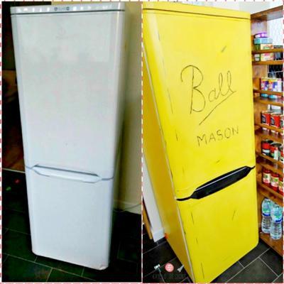 Идеи за обновяване или декорация на стар хладилник