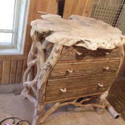 Как се правят мебели и декорация от сухи клони и корени