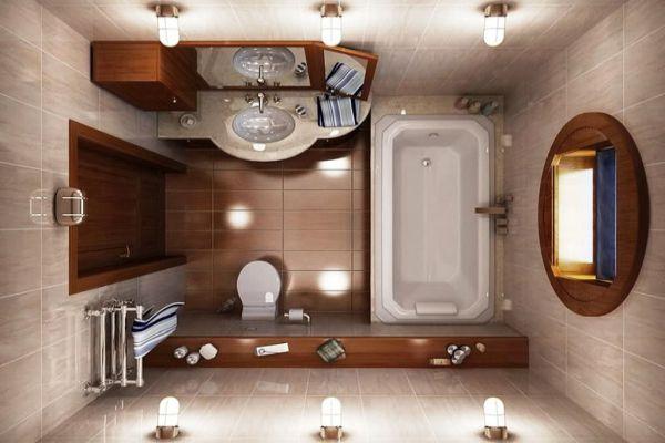 Правила и разстояния за обзавеждане на удобна баня съвети