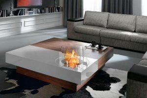 Модерно отопление: Стъклени камини