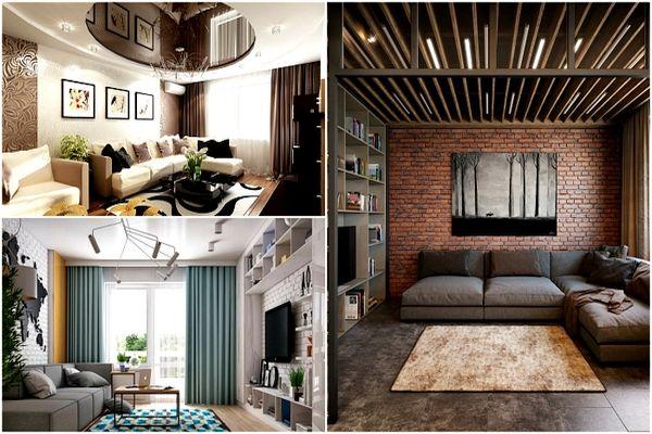Преди да направите ремонт на всекидневната:  15 идеи за малко помещение
