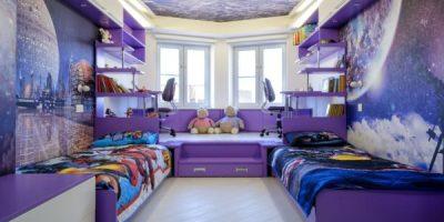 Към безкрая и отвъд: Детска стая в космически стил