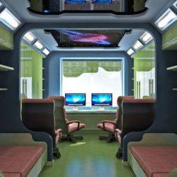 Детска стая за момче с космос декор