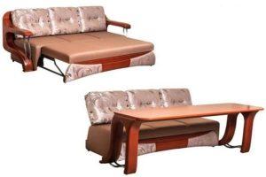 Смарт мебел 3 в 1 – диван, маса и легло за малък апартамент