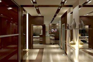 Дизайн на коридора: Особености и секрети в оформянето му