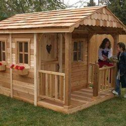 Идеи за направи си сам детска къщичка от палети