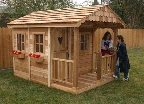 Направи си сам: Детска къщичка от палети за вилата