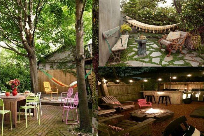 Идеи за декор на малък двор