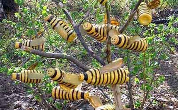 Направи си сам слон пчелички за градина